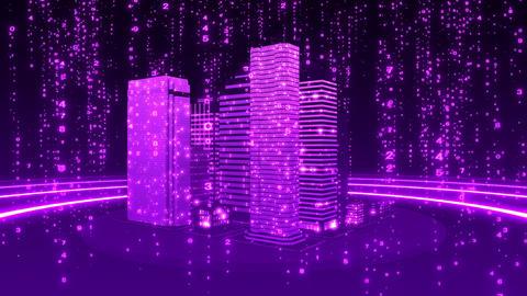 SHA Vioret City Cyber BG Image CG動画