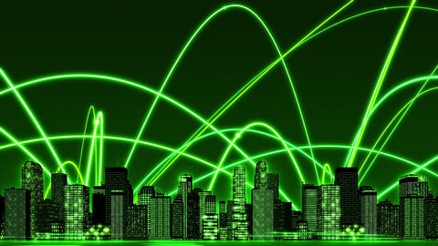SHA Green Business Image BG CG動画