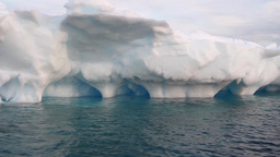 Large Icebergs in Antarctica Footage