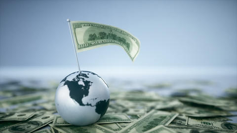 Global Economy - Money Footage