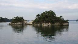 Japan Lake and rock Footage