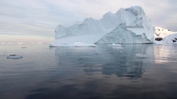 Large Iceberg in Antarctica Footage
