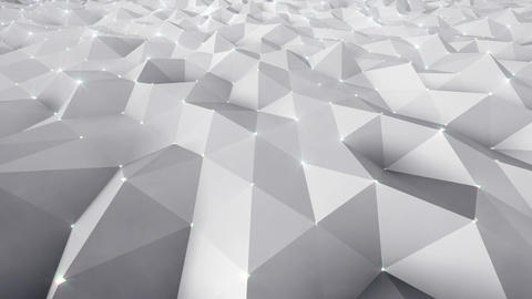 Geometric Wall 1s NBpFb 4k CG動画