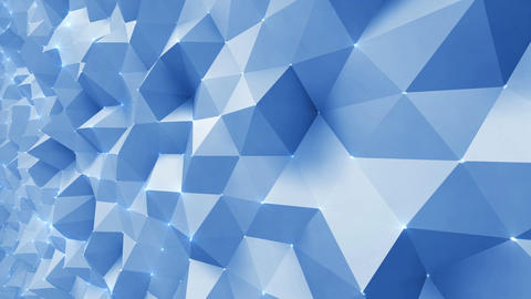 Geometric Wall 1s NCpFc 4k CG動画