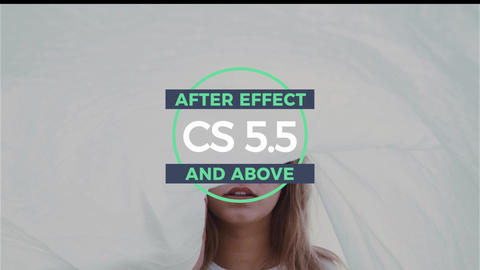 18 Creative modern titles After Effects Template