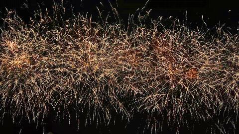 Firework Display, Busan, Incheon, Korea, Seoul 영상물