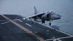 22nd meu ace launches harriers from uss bataan Live Action