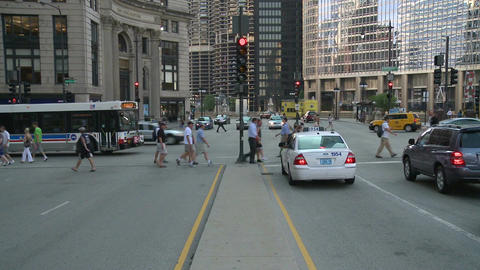Chicago median strip Footage