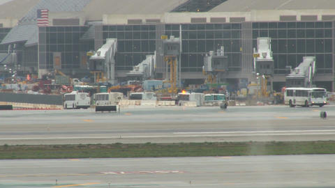 Lax airport departure Footage