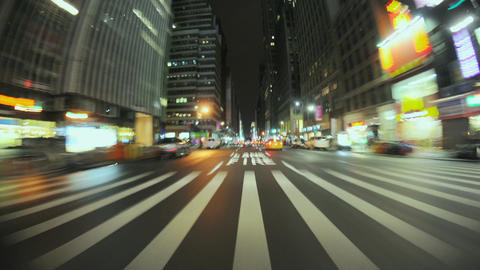 Nyc driving pov timelapse Live Action
