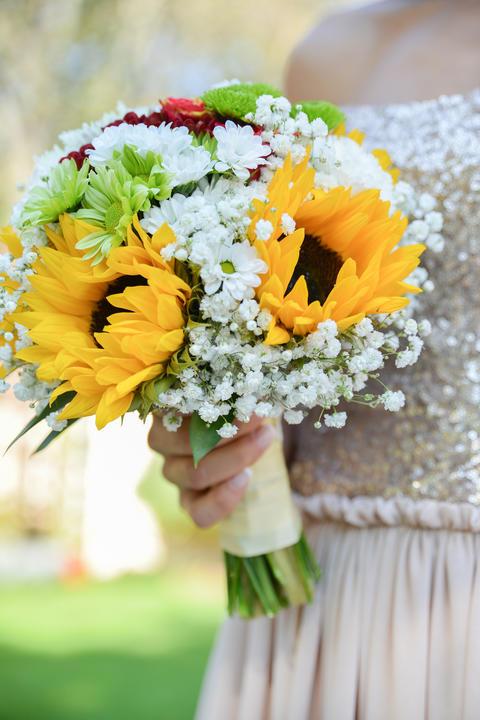 wedding flower bouquet Foto