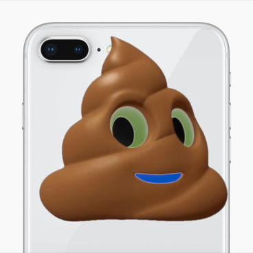 Poop Emoji Apple Motionテンプレート
