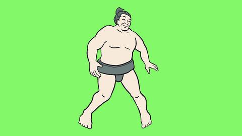Sumo dancer CG動画