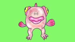 Fish man Animación