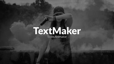 TextMaker - Block Reveal Premiere Pro Template