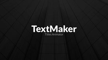 TextMaker - Digital Block Edition Premiere Pro Template