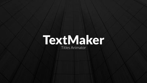 TextMaker - Digital Block Edition Premiere Pro Template