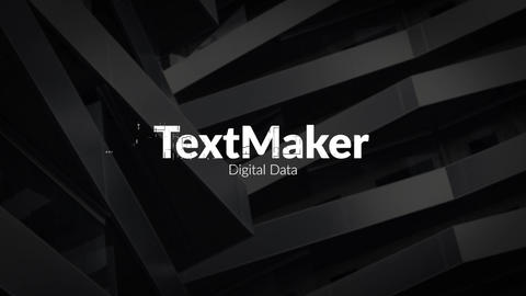 Titles Animator - Digital Data Premiere Pro Template