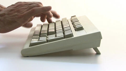 Typing PC Keyboard Live Action