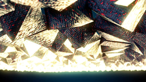 Abstract CGI motion graphics with fantastic cubes Animation
