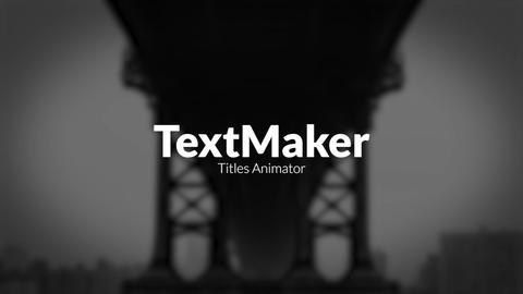 Titles Animator - Digital Flame Premiere Pro Template