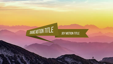 Ribbons tiltes and logos Premiere Pro Template