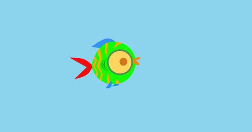 Goofy little fish Animation