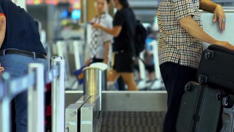 Airport Terminal Checkin Counter Live Action