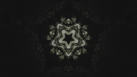 Black Kaleidoscope Footage