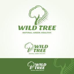 Wild Tree Logotype Vektor