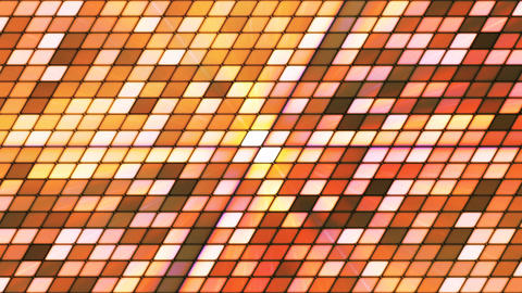 Broadcast Twinkling Slant Hi-Tech Cubes, Brown, Abstract, Loopable, 4K Animation