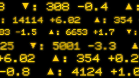 Stock Exchange Display Stock Video Footage