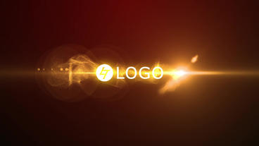 Particles Intro Logo After Effects Template