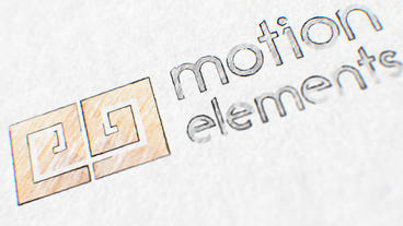 Pencil Drawing Logo After Effects Template