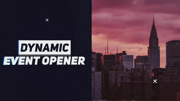 Urban Cinematic Glitch Slideshow After Effects Template