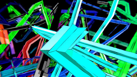 VJ Fast Lines Animation