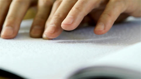 Reading Braille Image