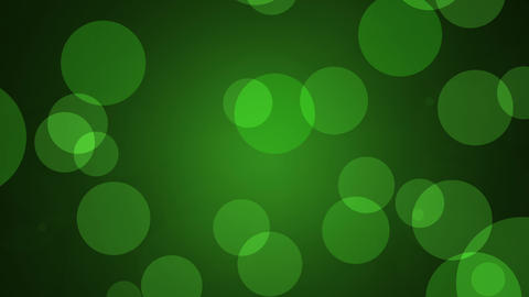 Green Background Loop Animation