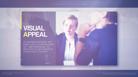 Minimal Corporate After Effects Template
