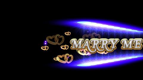 MARRY ME CG動画素材