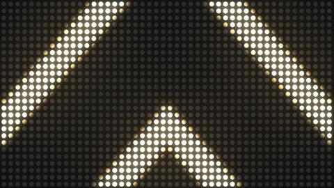 Strobe Lights Flashing VJ. Flickering Led Blinking Lights…, Stock Animation