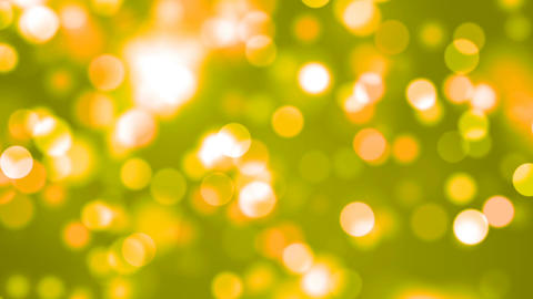 Green Abstract Lights bokeh background loop Animation