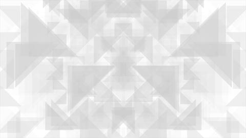 Geometric grey polygon shapes video animation Animación