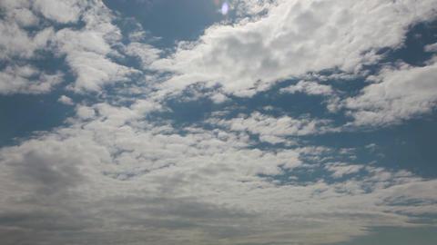 綺麗な空と雲の流れ ビデオ
