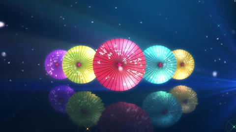 SHA Kasa Sakura 06 Animation