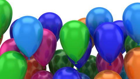 Balloons Flying Up Image