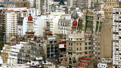 Buenos Aires Downtown Footage