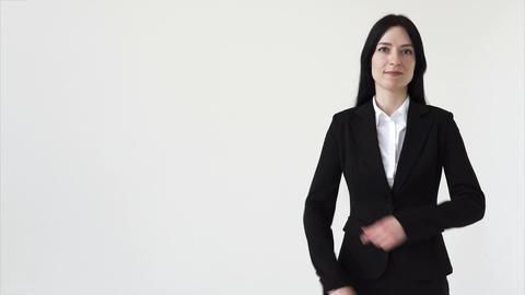 Confident businessman woman Footage