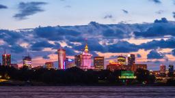 Warsaw City Panoramic Skyline Timelapse Warszawa Panorama ビデオ