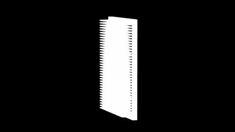 Car air filter, Stock Animation